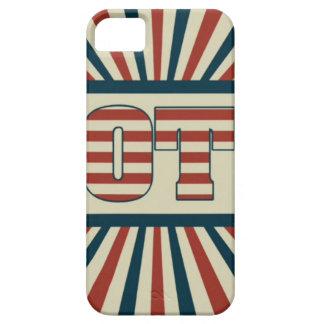Retro vote, all gear iPhone 5 case