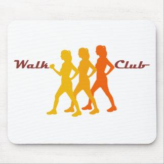 Retro Walk Club Mouse Mat