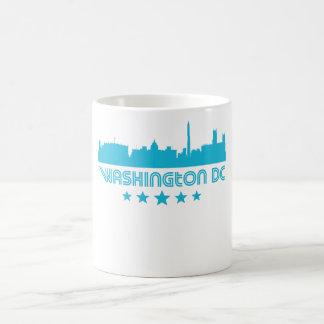 Retro Washington DC Skyline Coffee Mug