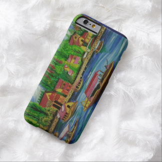 Retro Watercolor Landscape Design iPhone 6 Case