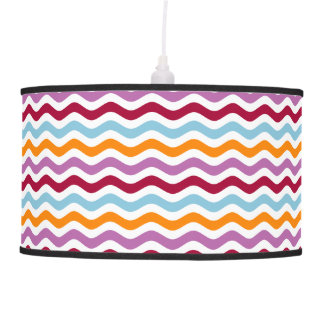 Retro Waves Hanging Pendant Lamp