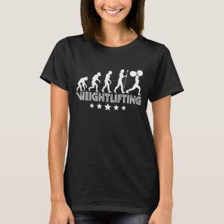 Retro Weightlifting Evolution T-Shirt