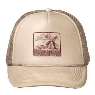 Retro Windmill Trucker Hat