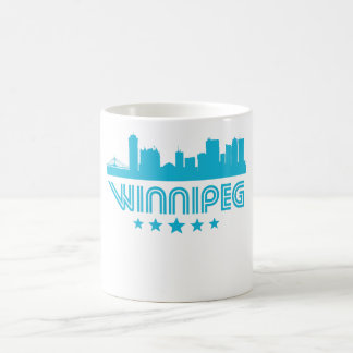 Retro Winnipeg Skyline Coffee Mug
