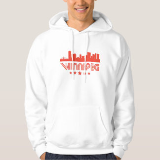Retro Winnipeg Skyline Hoodie