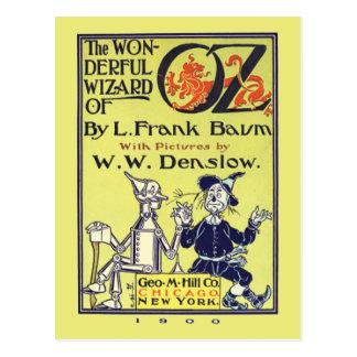 Retro Wizard of Oz Vintage Postcard