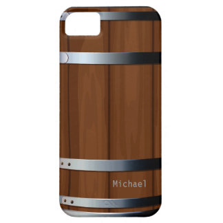 Retro Wooden Beer Barrel Case For The iPhone 5