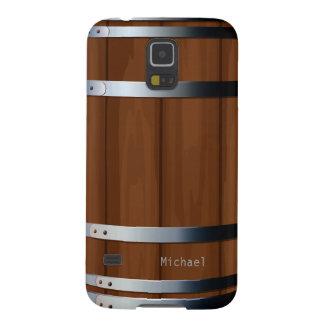 Retro Wooden Beer Barrel Galaxy S5 Case