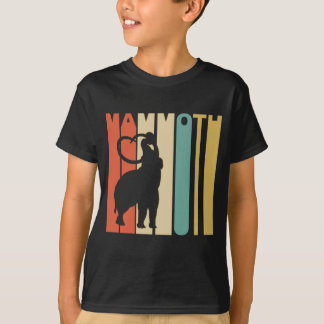 Retro Woolly Mammoth T-Shirt