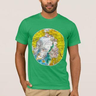 RETRO WORLD MAP T-Shirt