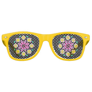 Retro Yellow Black Pink Party Shades