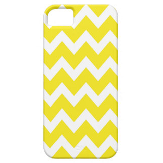 Retro YELLOW Zig Zag Pattern Case For The iPhone 5