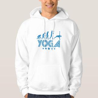Retro Yoga Evolution Hoodie