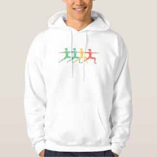 Retro Yoga Pop Art Hoodie