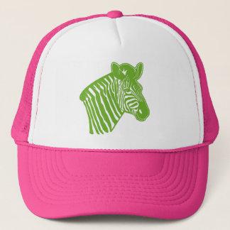 Retro Zebra trucker hat