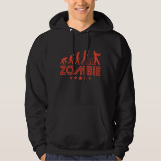 Retro Zombie Evolution Hoodie