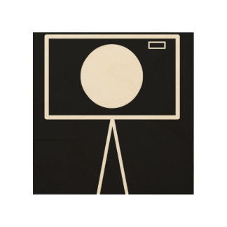 RetroCam 8x8 wood wall art