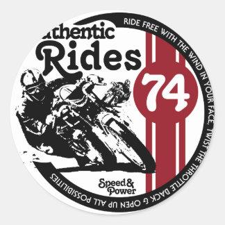 Classic Motorcycle Custom Stickers Custom Vinyl Decals - Classic motorcycle custom stickers
