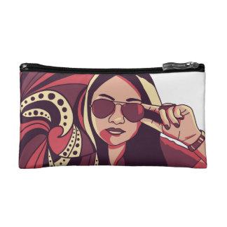RetroGirl cosmetic bag