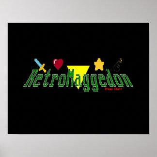 RetroMaggedon Poster