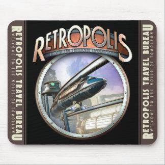 Retropolis Monorail Mouse Pad