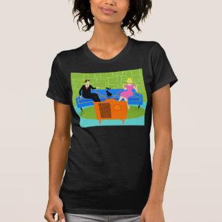 Rétros ajouter au T-shirt de chat