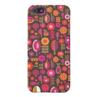 Rétros arbres et coque iphone de motif de pommes coques iPhone 5