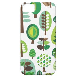 Rétros arbres et coque iphone verts de plantes coque Case-Mate iPhone 5