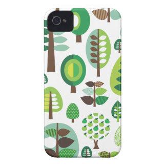 Rétros arbres et coque iphone verts de plantes coques iPhone 4
