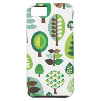 Rétros arbres et coque iphone verts de plantes étui iPhone 5