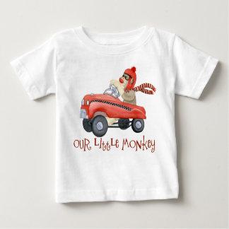 Rétros cadeaux de bébé de voiture de pédale du tshirts