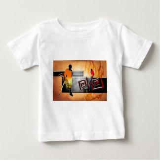 Rétros cadeaux vintages de style de l'Afrique Tshirt