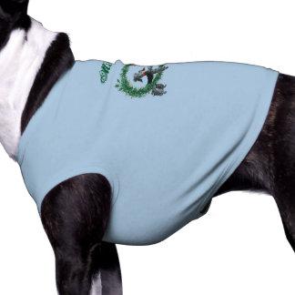 Rétros caniches vintages dans la conception de manteau pour animal domestique