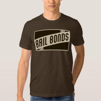 rétros cautionnements tee shirt