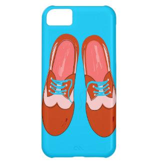 Rétros chaussures rouges étui iPhone 5C