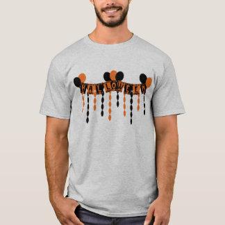 Rétros flammes de partie de Halloween T-shirt