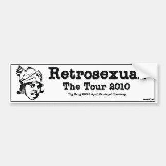 Retrosexual Tour - Bumper Sticker