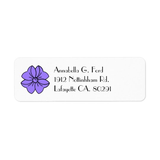 return address label,#811_bow