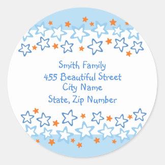 Return Address Label - Matthew Birthday