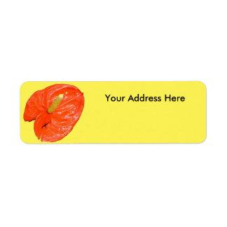 Return Address Labels - Chinese Lantern