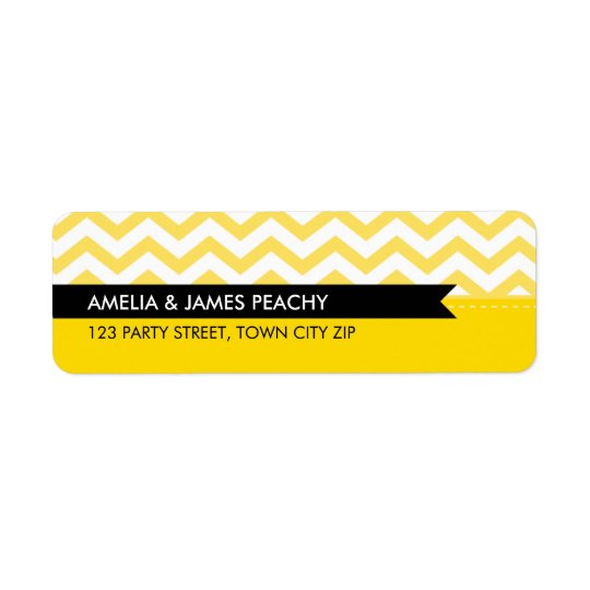 RETURN ADDRESS LABELS :: simple minimal classy