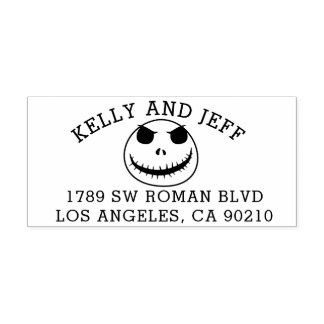 Return address stamp Halloween