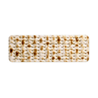 Return Labels - Custom Jewish Matzo Avery