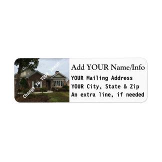 Return Mailing Address Labels, for envelopes Return Address Label