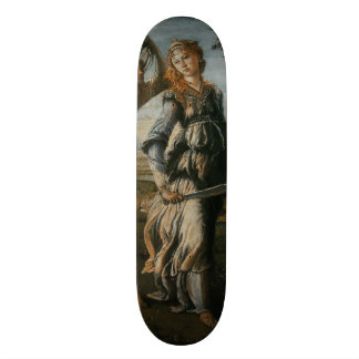 Return of Judith to Bethulia by Botticelli Skateboard