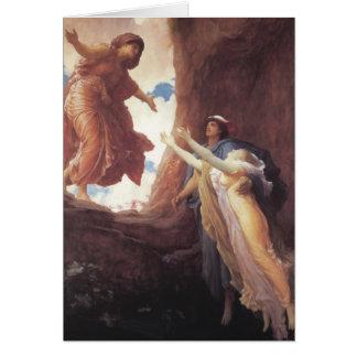 Return of Persephone - Lord Frederic Leighton Card