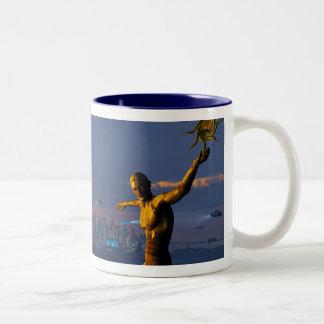 Return of the Albatross Two-Tone Coffee Mug