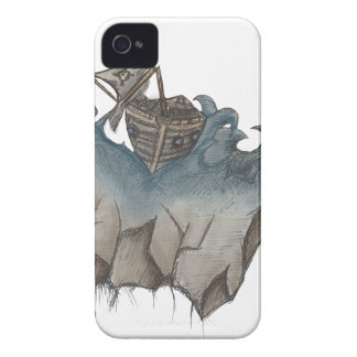 Return of The Lucky Tiger iPhone 4 Case-Mate Case