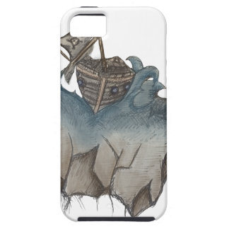 Return of The Lucky Tiger iPhone 5 Case