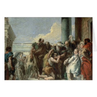 Return of the Prodigal Son, 1780 Card
